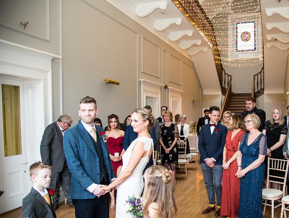 Ceremony at Netherbyres